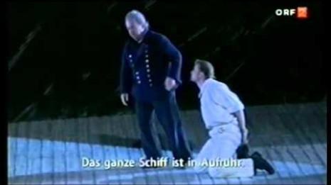 Bo Skovhus dans Billy Budd à l'Opéra d'Etat de Vienne