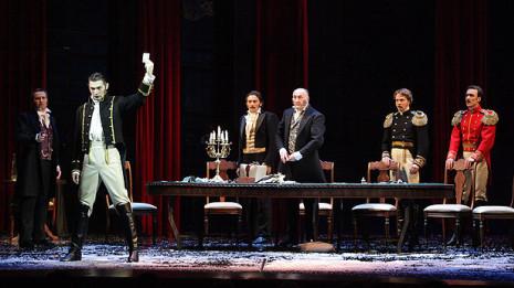 """""""La Dame de pique"""" de Tchaïkovski au Théâtre Mariinsky de Saint-Pétersbourg (intégrale)"""