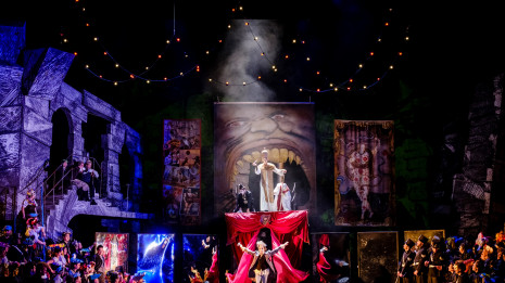 Benvenuto Cellini de Berlioz par Terry Gilliam (intégrale)