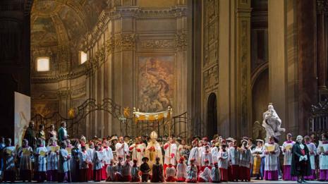 Tosca dans ses décors d'origine (Rome, intégrale 2018)