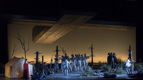 Tosca de Puccini à l'Opéra Bastille (intégrale, 2014)